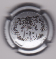 Capsule Mousseux ( WECK Clément , Crémant D'Alsace Argent Et Noir ) {S24-19} - Mousseux