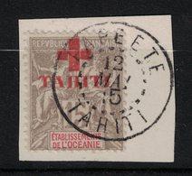 Tahiti - Yvert 35 Oblitéré PAPEETE - Scott#B2 - Used Stamps