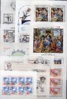 Posten CSSR 12 Motive Blocks/KB **/o 78€ Bloque Hb Space Blocs Art M/s Topic History Sheets Bf Tschechoslowakei CSR - Blocks & Kleinbögen