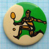 USSR / Badge / Soviet Union / Tennis. - Tennis