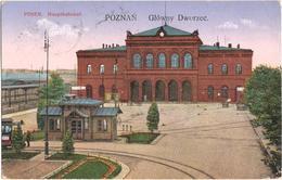 Poznan - Glowny Dworzee - Posen - Hauptbahnhof - & Railway Station - Pologne