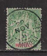 Moheli - Yvert 4 Oblitéré MOHELI - Scott#4 - Mohéli (1906-1912)
