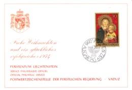 1973  Neujahrswünsche - Dienstpost