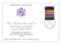 1980  Neujahrswünsche - Dienstpost