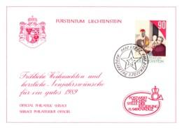 1988  Neujahrswünsche - Dienstpost
