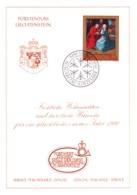 1989  Neujahrswünsche - Dienstpost