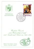 1990  Neujahrswünsche - Dienstpost