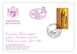 1991  Neujahrswünsche - Dienstpost