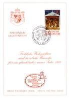 1992  Neujahrswünsche - Dienstpost