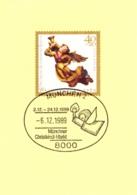 1989 Sonderstempel Münchner Christkindl - Weihnachten