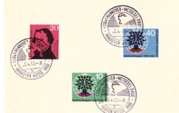 1960 Hannover Messe - Briefmarken