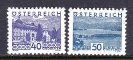 Autriche 1932 Neufs* N°414,416     TB   2,50 € (cote 17 € 2 Valeurs) - 1918-1945 1ère République