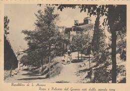 REPUBBLICA S.MARINO - ROCCA E PALAZZO DEL GOVERNO VISTI DALLA SECONDA TORRE - San Marino