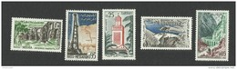 DZS01251 Algérie Algeria 1962 Definitive Issue - Complete Set 5 Stamps / MNH - Algeria (1962-...)