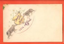EPB-22 Gruss Aus Bern, Von Alfred. Bären Ours, Gelaufen 1913 Carte Dessinée - BE Berne