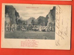 EPB-23 Theater Schiller's Wilhelm Tell, Akt 4, Szene 3 . Scène De Théâtre. Gelaufen 1899 - Other