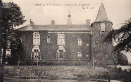 POIRE SUR VIE- CHATEAU DE LA METAIRIE. - Poiré-sur-Vie