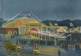 Postcard Cpa Circus Cirque Zircus  BUSCH - Circus