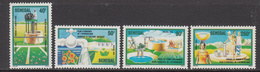 1985 Senegal Water Emergency Environment Green Complete Set Of 4 MNH - Senegal (1960-...)