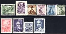 Autriche 1945/68 Neufs** N°805,807,896,900A,911A,948,953B,1096 Neufs* N°631,771   TB   3 € (cote 17,55 € 10 Valeurs) - 1945-.... 2ème République