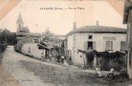 VEAUNES - Vue De L'Eglise - - France