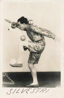Cpa Circus SILVESTRI Artista Original Photo  Kstrand  Kungstornet 1910s - Entertainers