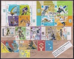Argentina - 2018 - Pierre Fredy De Coubertin - Jeux Olympiques D'Atlanta 96 - Sydney 2000 - Athènes 2004 - Pékin 2008 - Argentina