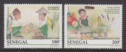 1997 Senegal Food Day  Rice Complete Set Of 2 MNH - Senegal (1960-...)