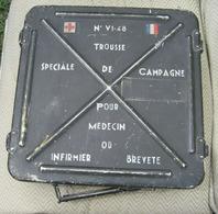 Caisse Militaire D'infirmerie Française 1948 - Equipement