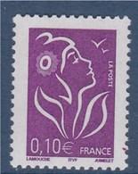 = Marianne De Lamouche ITVF 0.10€ Violet Rouge 3732 - 2004-08 Marianne Of Lamouche