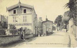 63 Royat Hotel Restaurant De La Belle Meuniere Source Defert - Royat