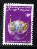 Gibuti,- Conference ONU Sur Les PMA. Used - Djibouti (1977-...)