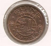 GUINE 1$ ESCUDO 1973 TTB - Guinea-Bissau
