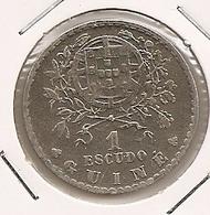 GUINE 1$ ESCUDO 1933 - Guinea-Bissau
