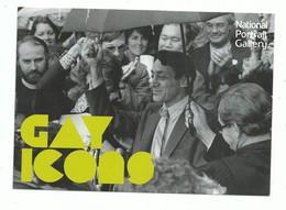 CPM  Vedette Gay Harvey Milk By Efren Convento Ramirez 1978 - Gays Icons National Portrait Gallery Ed Boomerang - Fotografia