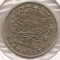 CABO VERDE CAPE VERT 50 CENTAVOS 1930 - Cabo Verde