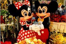 Walt Disney World Mickey & Minnie Main Street Flower Market - Disneyworld
