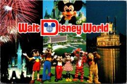 Walt Disney World Welcome To Our World Multi View 1993 - Disneyworld