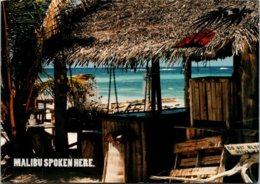 Advertising Malibu Rum Beach Scene Malibu Spoken Here 1997 - Advertising