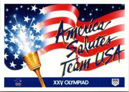 America Salutes Team USA XXV Olympiad Barcelona Spain - Olympic Games
