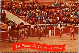 Bull Fight Grand Entrance La Plaza De Toros Juarez Mexico - Corrida