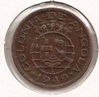 ANGOLA 20 CENTAVOS 1949 - Angola