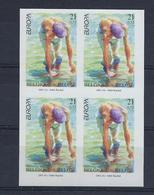 N°2989ND (genummerd 453/454/455/456) MNH ** POSTFRIS ZONDER SCHARNIER COB € 200,00 SUPERBE - Belgique