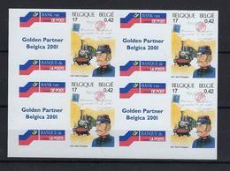 N°2999ND (genummerd 453/454/455/456) MNH ** POSTFRIS ZONDER SCHARNIER COB € 40,00 SUPERBE - Belgique