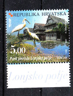 Croazia  - 1999.  Cicogne Nel Parco Nazionale Lonjsko Polje. Storks In The Lonjsko Polje National Park. MNH - Cicogne & Ciconiformi