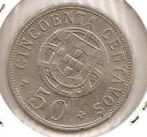 ANGOLA 50 CENTAVOS 1928 - Angola