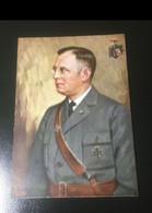 (art 3074) Franz Zeldte Druckschärfefehler Kriegs Ww2 Karte Ungel - Allemagne