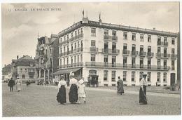 9Dp-772: 13 Knocke - Le Palace HOTEL   ( Met Tennisspelers..) - Knokke