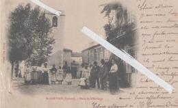 LOT 1009 DROME ST GERVAIS PLACE DE L'HORLOGE ANIMEE TOP 1903 - Francia