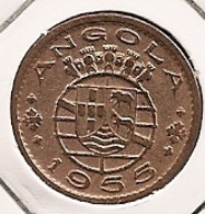ANGOLA 50 CENTAVOS 1955 RARE - Angola